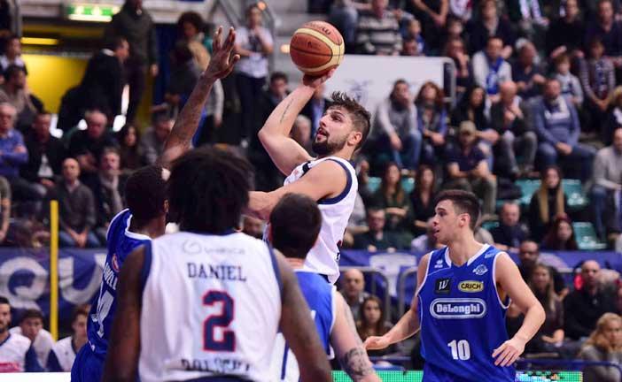 Italiano a LNP pre match Treviso semifinali Gara 2