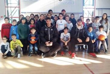 Cuccarolo e Fabiani alle scuole Munari di Baricella