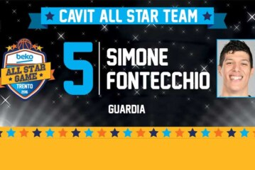 All Star Game Beko: Simone Fontecchio nel roster