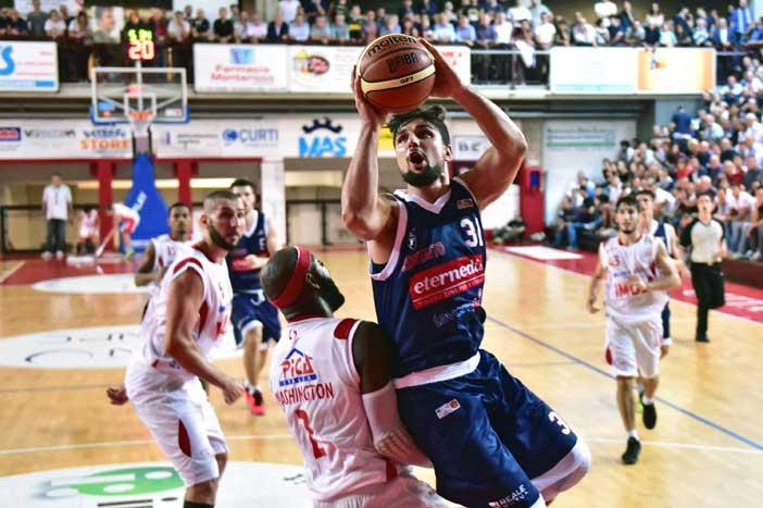 Fortitudo, Nazzareno Italiano a LNP pre match Ferrara