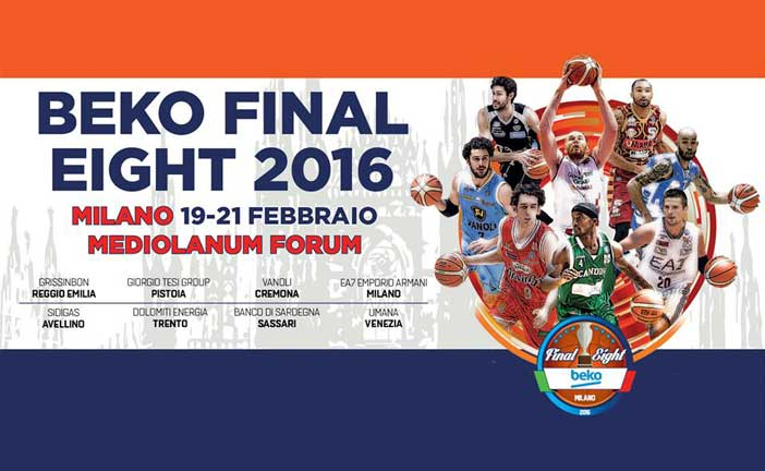 Beko Final Eight 2016: a Milano la Coppa Italia