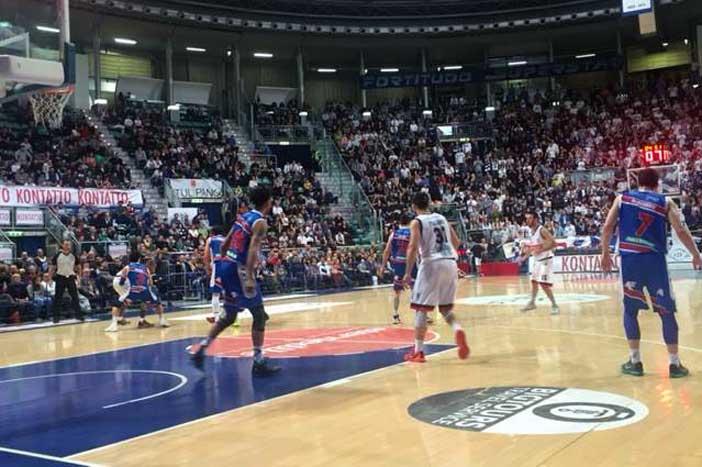 Fortitudo, bella vittoria contro Brescia