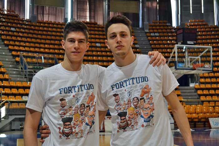 Fortitudo, in vendita la t-shirt con le caricature