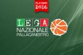 A2 Playoff 2015-16 – parità tra Girone Est e Girone Ovest