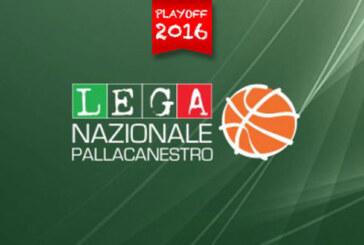 A2 Playoff 2015-16 – Finale Gara 3: tabellone, calendario, risultati, date e orari