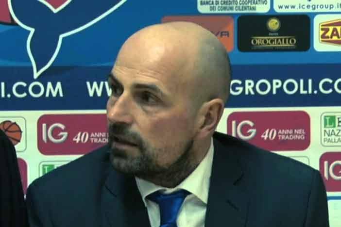 Agropoli, Antonio Paternoster a LNP pre match Fortitudo Gara 3