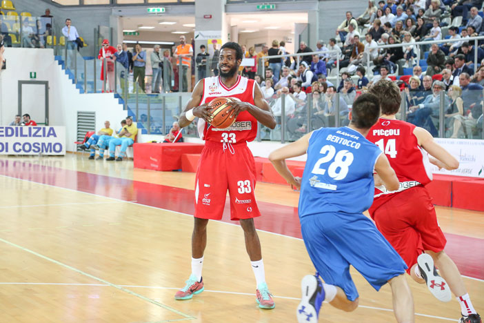 Chieti, Isaiah Armwood a LNP pre match Fortitudo