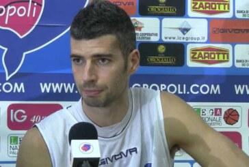 BCC Agropoli, Riccardo Santolamazza a LNP pre match Fortitudo