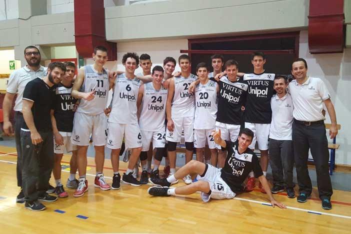 U18, l'Unipol Banca vince con Treviso e va in Finale Nazionale