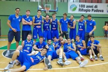 Torneo U20, Italia prima con Candi e Campogrande
