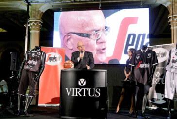 Virtus, svelata la nuova maglia in Sala Borsa