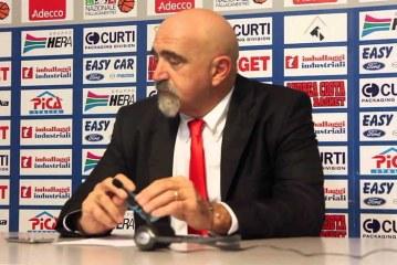 Imola, Giampiero Ticchi pre match Virtus