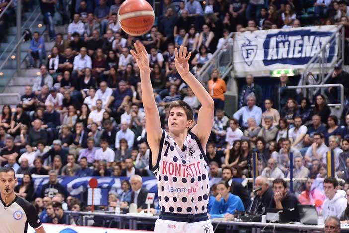 Leonardo Candi pre match Aurora Basket Jesi
