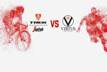 Segafredo Coffee Challenge, Virtus insieme ai ciclisti della Trek
