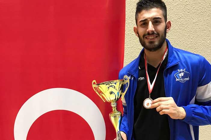 U20, Giuseppe Bruno di Fortitudo Academy top scorer alla Deaf Eurocup