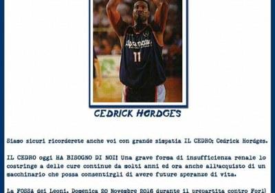 Locandina Cedrick Hordges