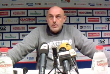Fortitudo, la conferenza stampa di Boniciolli post match Ravenna