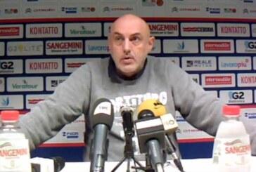 Fortitudo, Matteo Boniciolli pre match Piacenza