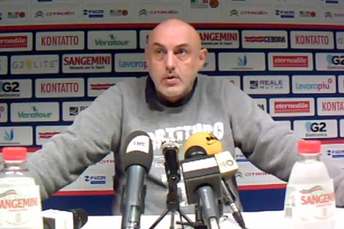 Fortitudo, la conferenza stampa di Boniciolli post match Ravenna