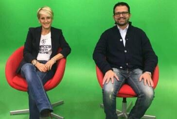 Federica Palumbi e Daniele Cavicchi ospiti questa sera a Basket City su TRC