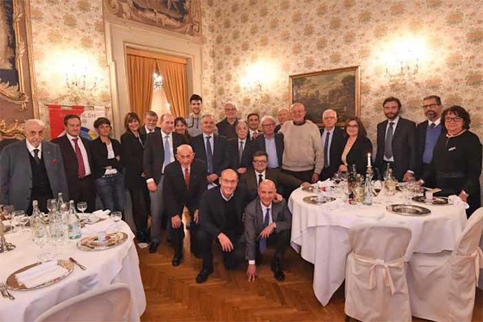 Virtus, Bucci, Vecchi e Oxilia ospiti del Panathlon Club Bononia