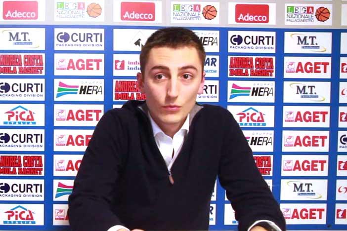 Imola, Lorenzo Dalmonte pre match Fortitudo