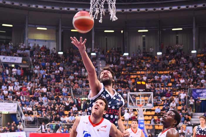 Fortitudo, Luca Gandini pre match Treviso