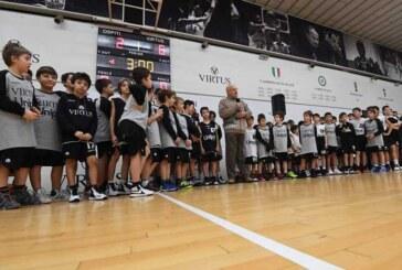 La festa del minibasket col presidente Bucci