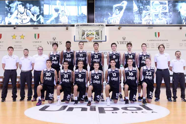 U18, doppio successo per l'Unipol Banca contro Forlì e Reggio Emilia