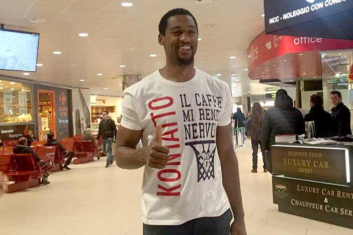 Alex Charles Legion è finalmente arrivato a Bologna