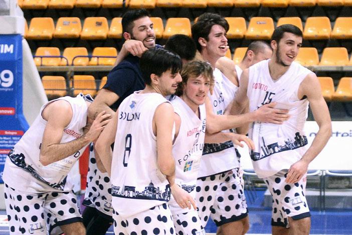 U20, la Fortitudo Academy 103 batte la Unipol Banca Virtus