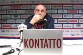Fortitudo, Boniciolli post match Ferrara