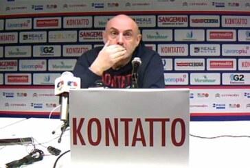 Matteo Boniciolli pre match Piacenza