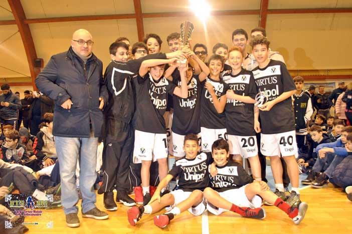 U13, l'Unipol Banca vince il 22° Torneo Natale sottocanestro