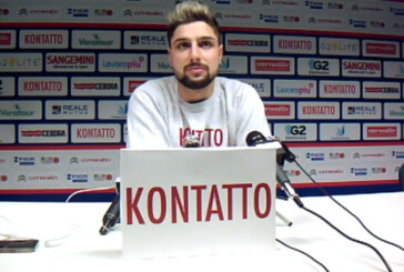 Fortitudo, la conferenza stampa di Nazzareno Italiano