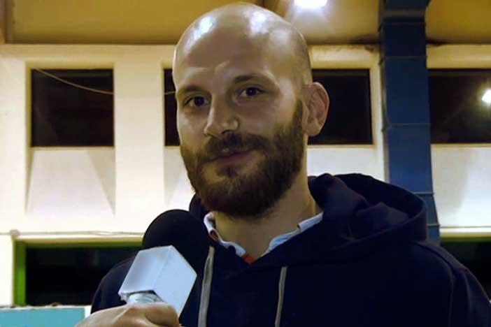 Damiano Cagnazzo pre match Virtus Bologna