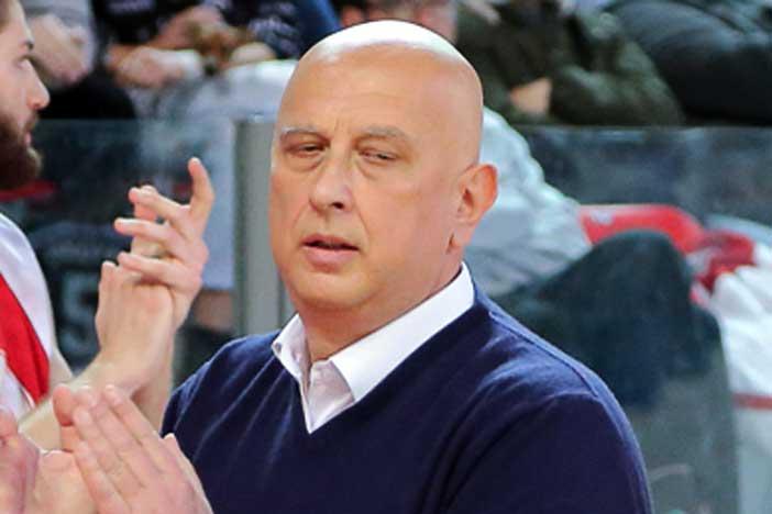 Maurizio Bartocci pre match Virtus Bologna