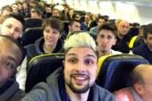 Fortitudo Kontatto in volo per Trapani