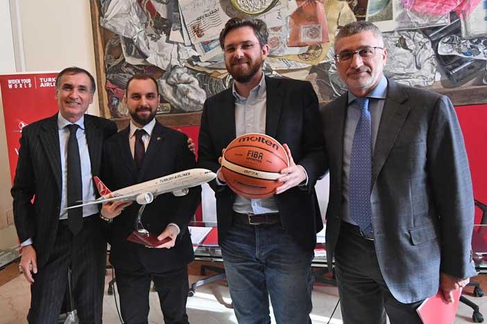 Turkish Airlines Cup, presentazione del palinsesto