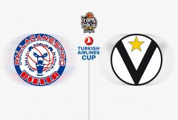 Virtus nel finale su Biella, la Turkish Airlines Cup 2017 è sua
