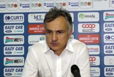 Forlì, coach Giorgio Valli presenta il match contro Imola