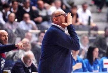 Boniciolli e Candi post match Virtus Bologna