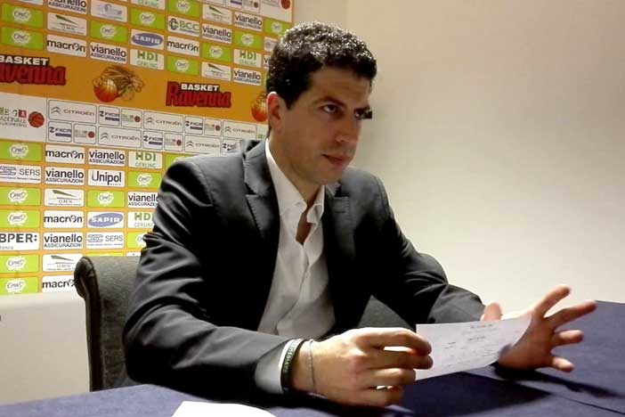Ravenna, la conferenza stampa di Martino post match Fortitudo