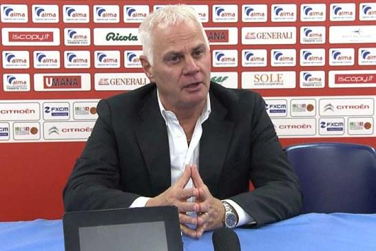 Trieste, Eugenio Dalmasson presenta il match contro la Virtus