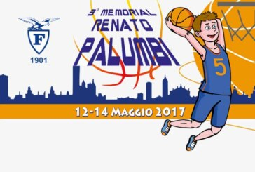 Memorial Renato Palumbi, questa sera si parte