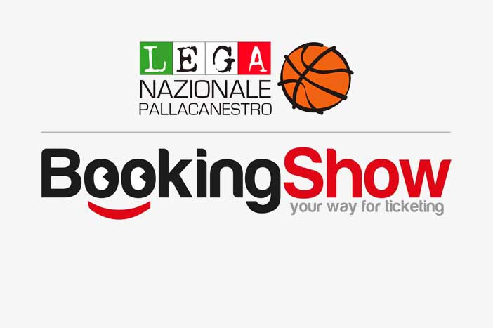 LNP, Bookingshow nuovo Official Ticketing Partner