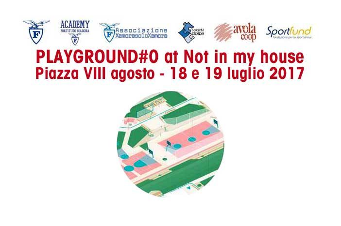"""Fortitudo, oggi la presentazione di """"Playground#0-città in gioco al PalaDozza"""""""