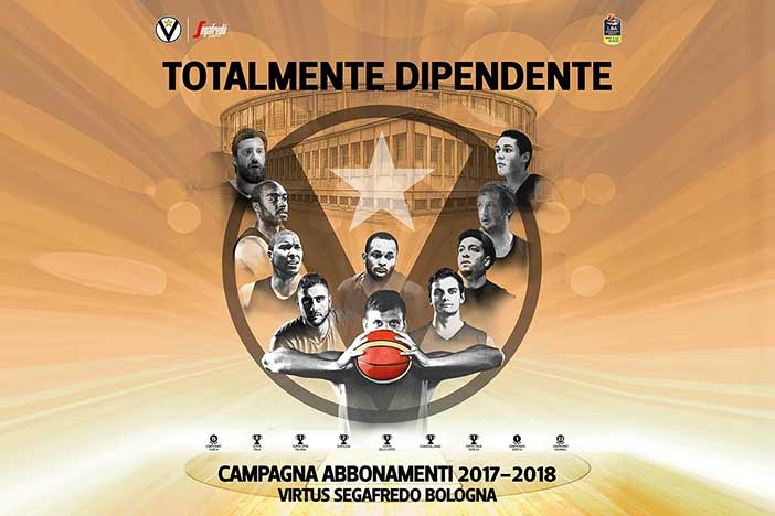 Virtus, campagna abbonamenti sold out