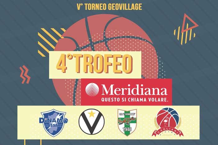 Virtus, sabato e domenica il 4. Trofeo Meridiana