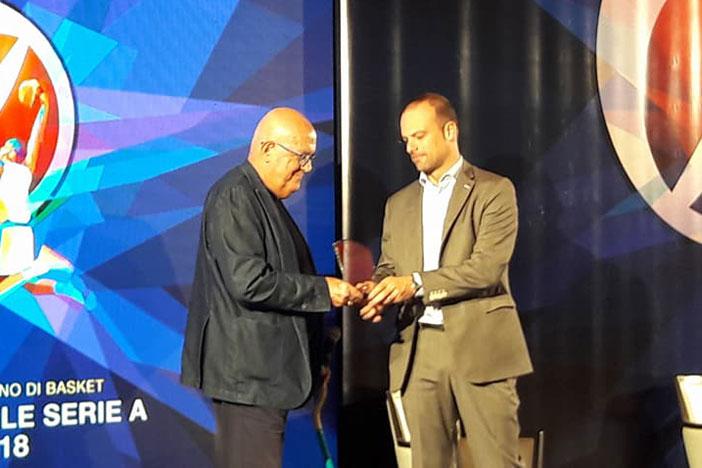 Serie A PosteMobile 2017-2018, la Regione E.R. premia Bucci e Virtus